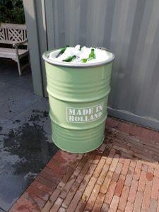 IJsbar Groen - koude drankjes in olievat