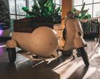 Ijsbar huren - scooter Vespa